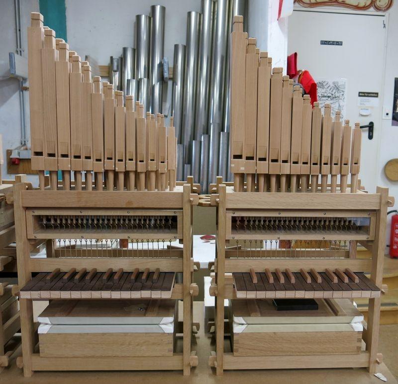 Orgelbausätze Al:legrO, Foto: Waldkircher Orgelbau Jäger & Brommer