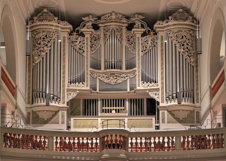 Orgel Georgenkirche Foto-Fichtner